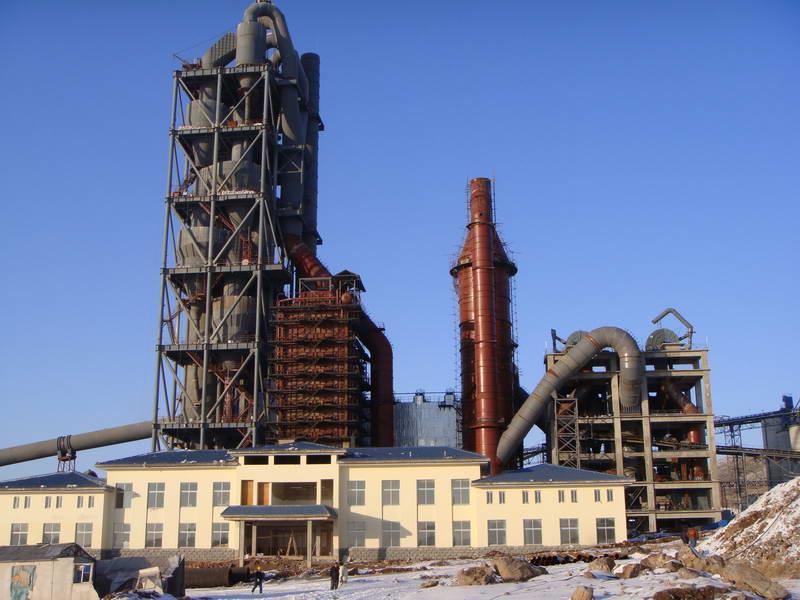 鲁安杯工程--大连山水水泥有限公司余热电站安装