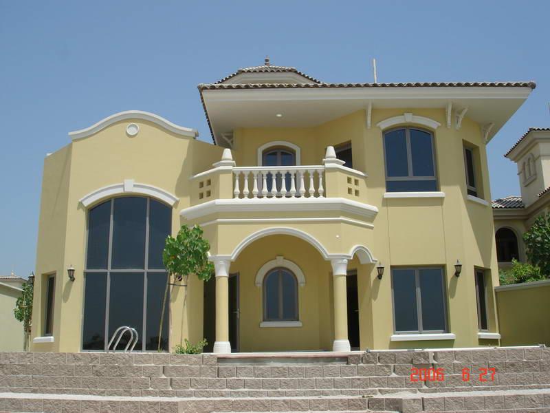 阿联酋棕榈岛别墅
